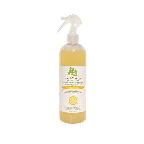Ecolicious Green & Squeaky Clean Waterless Shampoo