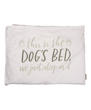 PILLOWCASE- DOGS BED