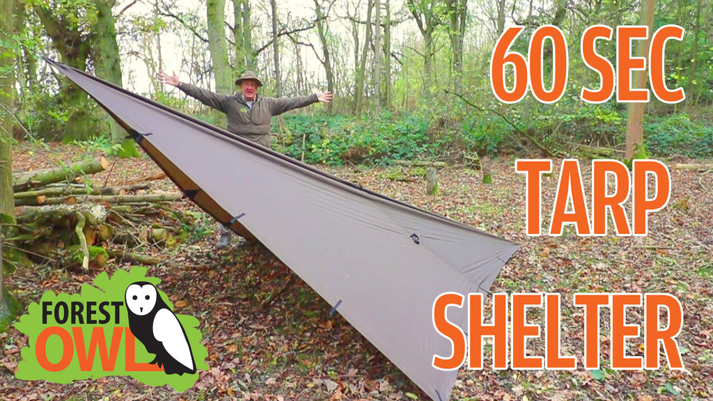 New Video - How to build a shelter in 60 Secs