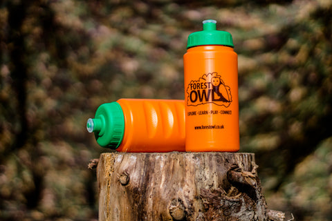 Forest Owl water bottle (12 pack - collect at session)
