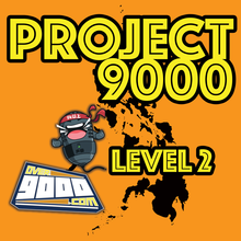 Project 9000 Level 2 (Pin and Sticker)
