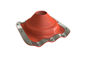 Dektite Premium Rubber Roof Flashing 170-355mm Red Silicone (DFE208RE)
