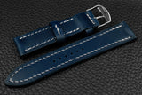 THOS Italian Blue Leather Watch Strap