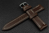 THOS Italian Espresso Leather Watch Strap