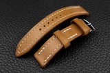 THOS Italian Sand Leather Watch Strap