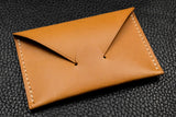 NEW: Customizable Italian Leather Card Wallet