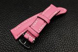 Alran Chevre Rose Half Padded Leather Watch Strap
