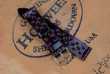 Horween Shell Cordovan Colour 8 Unlined Racing Leather Watch Strap