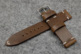 Horween Chromexcel Natural Side Stitch Leather Watch Strap