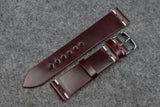 RM: Horween Shell Cordovan Colour 6 Unlined Watch Strap (20/18)