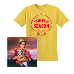 SUNSET SEASON YELLOW TEE + EP