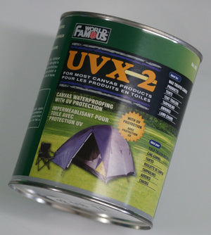 World Famous UVX 2 Waterproofing Protector for Canvas