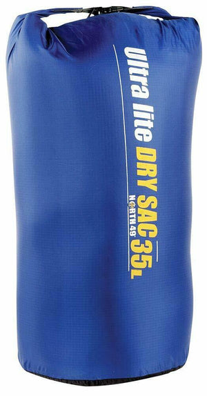 North 49 Ultra Lite Dry Sacs Light Weight Nylon Waterproof Bags 8-35 Litre Sizes