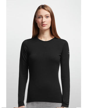 Icebreaker Women's Oasis Long Sleeve Crew - 100% Merino Wool,Breathable