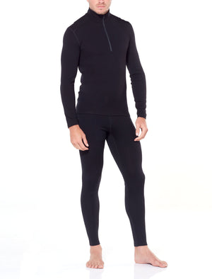 Icebreaker Men's Merino 260 Tech Leggings with Fly