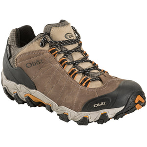Oboz Mens Bridger Low BDRY Waterproof Hiking Shoes Size 9