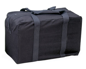 "World Famous Canvas Parachute Bag 24"" Black"