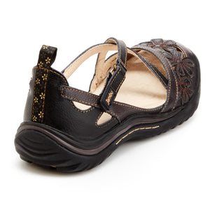 Jambu Blossom Encore Womens Sandals - Memory foam footbed, All-Terra traction