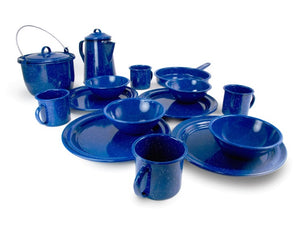 GSI Sierra Camp Kitchen Set Blue Enamel