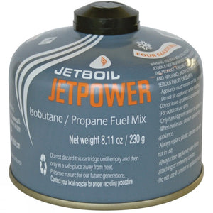 Jetboil Jetpower Isobutane/Propane Fuel Mix 230g (In-Store Only)
