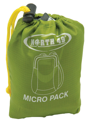 North 49 Micro Pack 15L Travel Backpacks