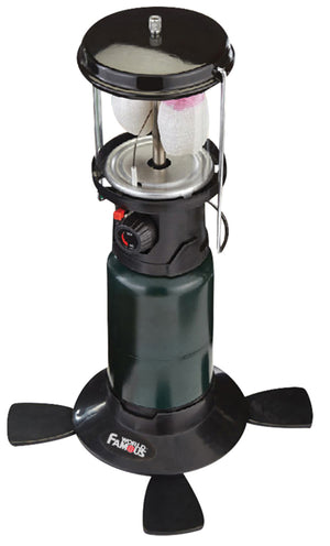 World Famous Piezo Light Double Mantle Propane Lantern