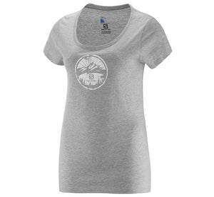 Salomon Legend Short sleeve tee shirt Women's, Cotton graphic tee Size XS-L
