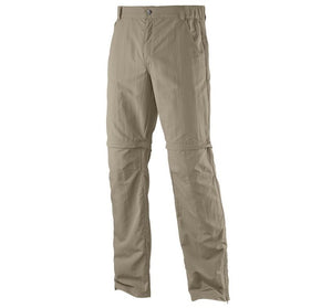 Salomon Elemental AD Zip off Convertable Hiking Pants Size 34