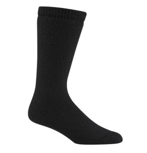 Wigwam 40 Degrees Below Winter Boot Socks, Youth Wool Blend, Black
