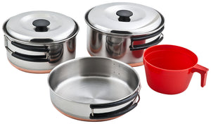 Chinook Ridgeline Stainless Steel Single Cookset