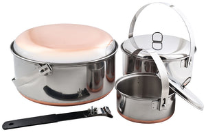 Chinook Ridgeline Stainless Steel Camp Cooksets
