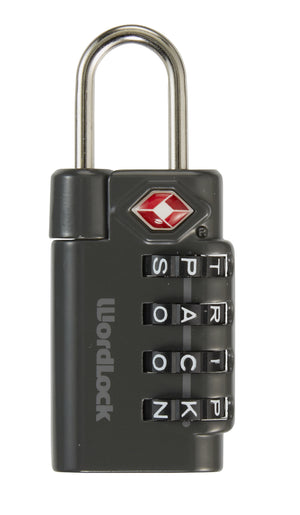 Eagle Creek WordLock TSA Travel Lock Graphite