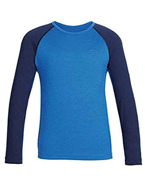 Icebreaker Kids Oasis Long sleeve Crewe Merino Wool Shirts