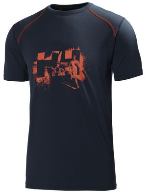 Helly Hansen Cool Mens Tee - LIFA Athletic Jersey Shirt