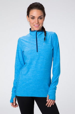 Helly Hansen Women's Aspire Flex 1/2 zip LS Running top, XS-L