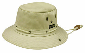 Misty Mountain Cotton Canvas Skipper Sun Hats