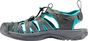 Keen Whisper Women Sandal, Water Shoe, Dark Shadow/Ceramic