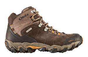 Oboz Bridger Mid BDry Hiking Boot, Mens, Rubber Outsole, Leather Upper (11.5, Sudan)