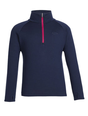 Icebreaker Kids Compass LS Half Zip Top