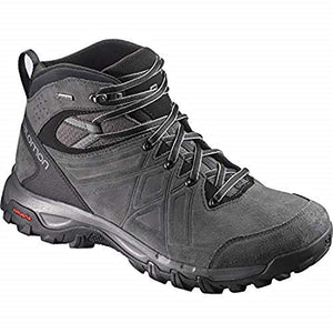 Salomon Mens Evasion 2 Mid Waterproof Leather Hiking Boots