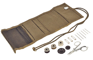 World Famous Military Style Canvas Sewing Kit