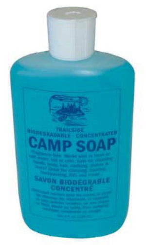 Trailside Camp Soap - Biodegradable, Concentrated - 2oz (60mL)