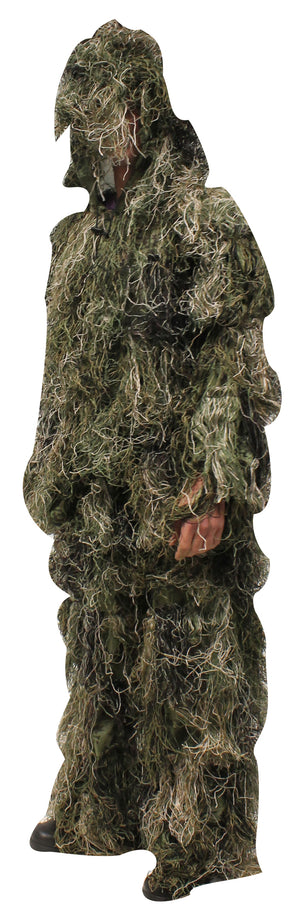 Bushline Outdoors Ghilly Suits in Uniflage Camo Print Sizes S-XL