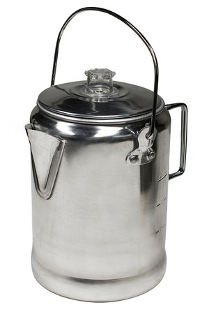 World Famous Aluminum Coffee Percolator 6-9 cup