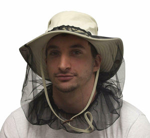 Misty Mountain Canvas Bosun Sun Hats with Mosquito Heat Net