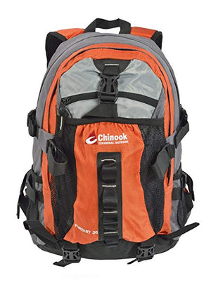 Chinook Pursuit 35L Hiking Backpack, Orange, DayPack