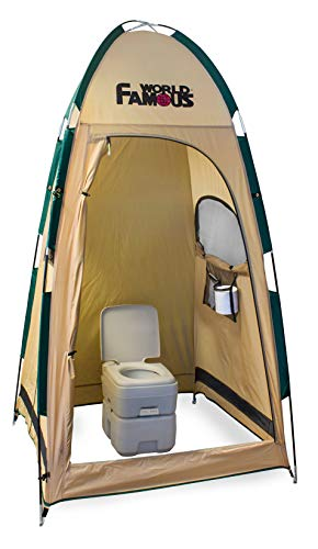 World Famous Porta-Privy Privacy Bathroom Tent Shelter