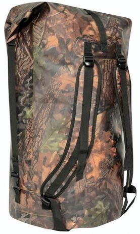 North 49 Camouflage WildWater Canoe Portage Pack 110L Waterproof Bag