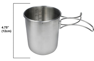 World Famous Stainless Steel Pot-Cup