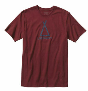 Patagonia Live Simply Mens Tent Life Cotton T-Shirt